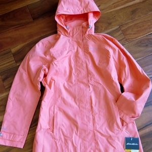 Eddie Bauer Women's SEAVIEW Packable Trench M